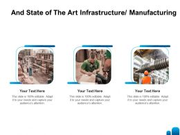 And State Of The Art Infrastructure Manufacturing L1383 Ppt Powerpoint Visual Slides