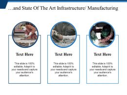 And State Of The Art Infrastructure Manufacturing Ppt Examples Slides