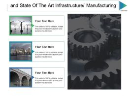 And State Of The Art Infrastructure Manufacturing Ppt Slides Graphics Pictures