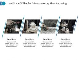 And State Of The Art Infrastructure Manufacturing Ppt Visual Aids Infographic Template