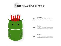 Android Logo Pencil Holder