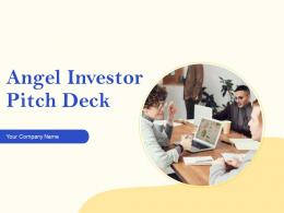 Angel Investor Pitch Deck PPT Template