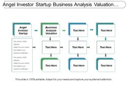 Angel Investor Startup Business Analysis Valuation Channel Communication Cpb
