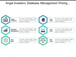 Angel Investors Database Management Pricing Optimization Strategic Management Cpb