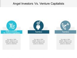 Angel Investors Vs Venture Capitalists Ppt Powerpoint Presentation Diagram Lists Cpb