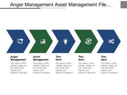 Anger Management Asset Management File Management Leadership Management Cpb