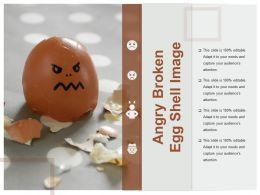 Angry Broken Egg Shell Image