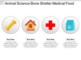 Animal Science Bone Shelter Medical Food