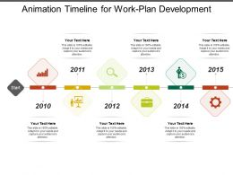 Animation Timeline For Work Plan Development