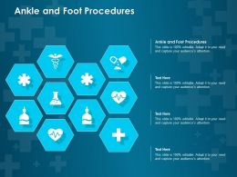 Ankle And Foot Procedures Ppt Powerpoint Presentation Summary Show