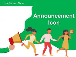 Announcement Icon Advertisement Marketing Megaphone Influencer