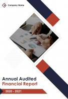 Annual Audited Financial Report 2020 2021 PDF DOC PPT Document Report Template