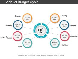 Annual Budget Cycle