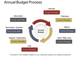 Annual Budget Process Example Of Ppt