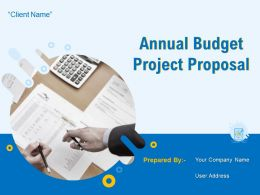 Annual Budget Project Proposal Powerpoint Presentation Slides