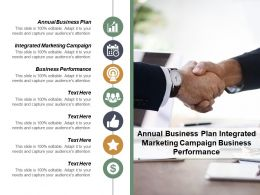Annual Business Plan Integrated Marketing Campaign Business Performance Cpb