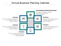 Annual Business Planning Calendar Ppt Powerpoint Presentation Summary Graphic Images Cpb