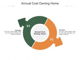 Annual Cost Owning Home Ppt Powerpoint Presentation Gallery Pictures Cpb
