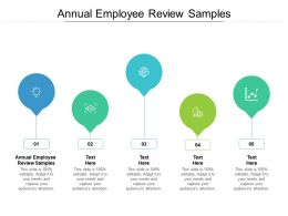 Annual Employee Review Samples Ppt Powerpoint Presentation Pictures Icons Cpb