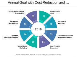 Annual Goal With Cost Reduction And Product Innovation