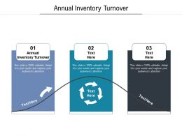 Annual Inventory Turnover Ppt Powerpoint Presentation Styles Diagrams Cpb