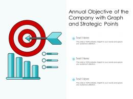 Annual Objective Of The Company With Graph And Strategic Points