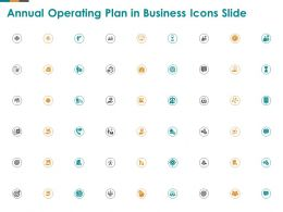 Annual Operating Plan In Business Icons Slide Ppt Powerpoint Presentation Infographic Template