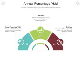 Annual Percentage Yield Ppt Powerpoint Presentation Icon Vector Cpb