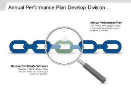 Annual Performance Plan Develop Division Performance Personal Obstacles