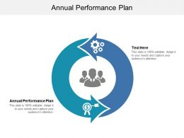 Annual Performance Plan Ppt Powerpoint Presentation Slides Background Images Cpb