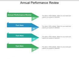 Annual Performance Review Ppt Powerpoint Presentation Summary Show Cpb