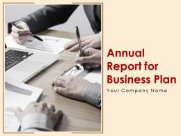 Annual Report For Business Plan Powerpoint Presentation Slides