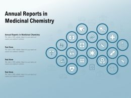 Annual Reports In Medicinal Chemistry Ppt Powerpoint Presentation File Demonstration