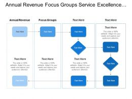 Annual Revenue Focus Groups Service Excellence Infrastructure Review