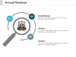 Annual Revenue Ppt Powerpoint Presentation Pictures Outline Cpb