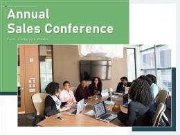 Annual Sales Conference Agenda Executives Presenter Strategic Recognize Successful