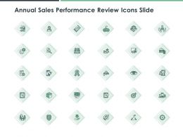 Annual Sales Performance Review Icons Slide Teamwork Ppt Powerpoint Presentation Diagram Ppt