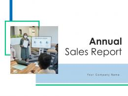 Annual Sales Report Dashboard Performance Product Presentation Analysis