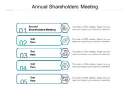 Annual Shareholders Meeting Ppt Powerpoint Presentation Summary Example Introduction Cpb