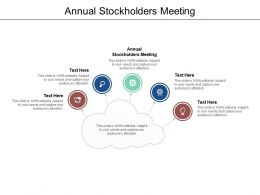 Annual Stockholders Meeting Ppt Powerpoint Presentation Inspiration Graphics Cpb