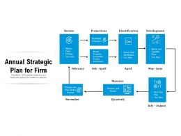 Annual Strategic Plan For Firm