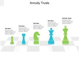 Annuity Trusts Ppt Powerpoint Presentation Infographics Icons Cpb