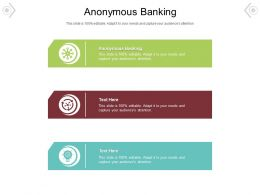 Anonymous Banking Ppt Powerpoint Presentation Slide Cpb