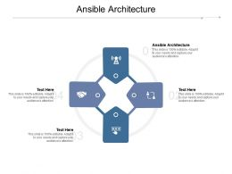 Ansible Architecture Ppt Powerpoint Presentation Infographic Template Outline Cpb