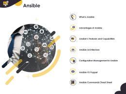 Ansible Configuration Management Ppt Powerpoint Presentation Graphics