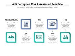 Anti Corruption Risk Assessment Template Ppt Powerpoint Presentation Slides Mockup