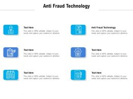 Anti Fraud Technology Ppt Powerpoint Presentation Outline Inspiration Cpb