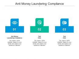Anti Money Laundering Compliance Ppt Powerpoint Presentation Pictures Portrait Cpb