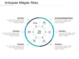 Anticipate Mitigate Risks Ppt Powerpoint Presentation Layouts Show Cpb