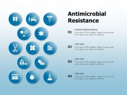 Antimicrobial Resistance Ppt Powerpoint Presentation Outline Layout